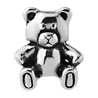 Steel Cast Captive Bead : Teddy Bear image