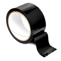 Bondage Tape Roll : Black image