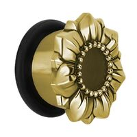 Ornate Cast Brass Single Flared Eyelet image