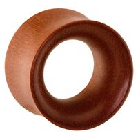 Rosewood Thin Double Flared Tunnel image