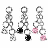 Steel Prong Set Round Double Swarovski image