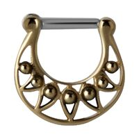 Cast Brass Hinged Clicker image