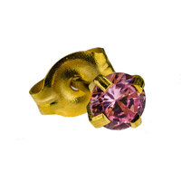 Gold Plate CZ : Pink image