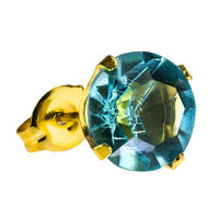 Gold Plate Tiffany : Aquamarine image
