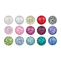 Steel Basicline® Sealed Multi Jewelled Clip-in Ball image