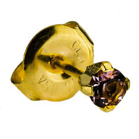 24ct Gold Plate Clawset Birthstone Regular : Alexandrite image