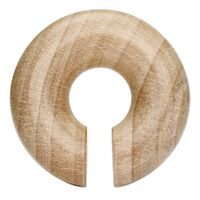 Crocodile Wood Round Hanger image