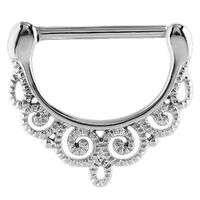 Steel Filigree Bead Nipple Clicker image