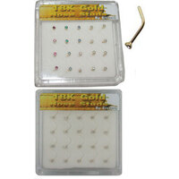 18ct Gold GNS Style Nose Stud Box image
