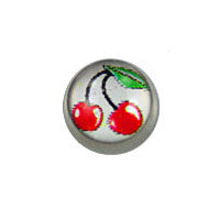 "Screw On Picture Ball ""Cherry"" image"