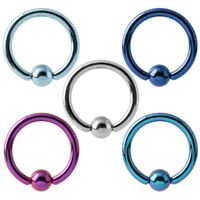 Titanium Ball Closure Ring image