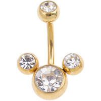 Mickey Jewelled Navel image