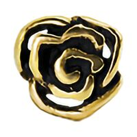 Bright Gold Rose Internally Threaded Attachment image