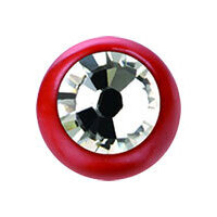 Supernova Fire Red SWAROVSKI Jewelled Ball image
