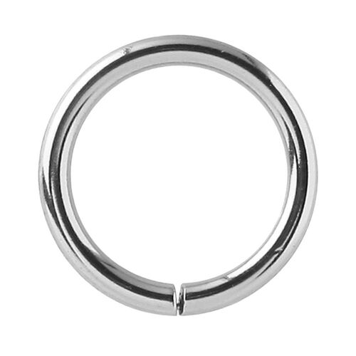 Steel Basicline® Continuous Rings : 0.8mm (20ga) x 6mm