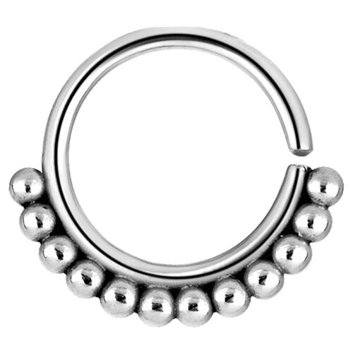 Annealed Decorative Steel Ring : 1.0mm (18ga) x 8mm