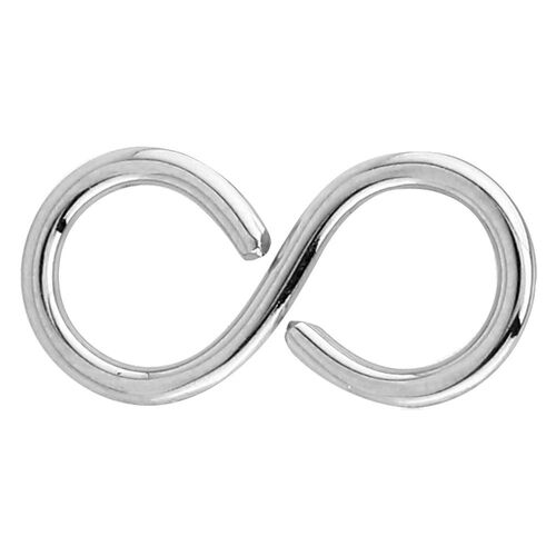 Surgical Steel Annealed Infinity Continuous Ring : 1.2mm (16ga)
