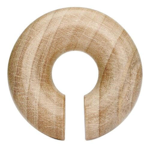 Crocodile Wood Round Hanger : 6mm