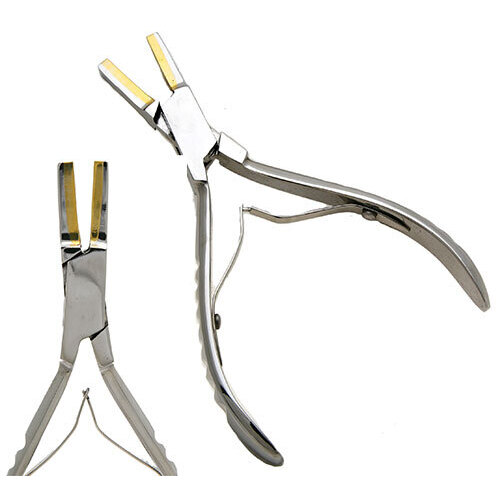 Brass Tipped Flat Nose Pliers