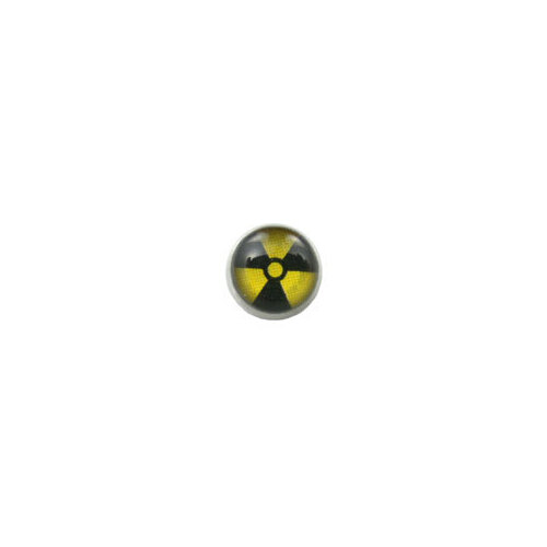 Screw On Picture Ball Radioactive