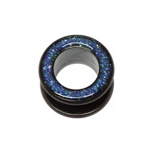 Steel Blackline® Glitter Tunnel : 12mm x Dark Blue