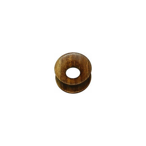 Concave Hollow Teak Wood Plug : 10mm