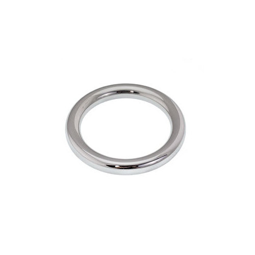 Surgical Steel Rounded Cock Ring : 6mm x 35mm x 32g